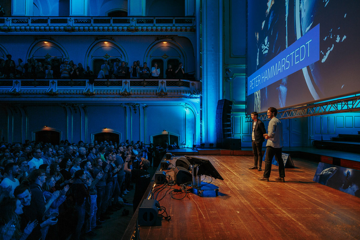 Standing Ovations for Peter Hammarstedt at the premiere in Hamburg